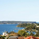 View from terrace to Balmoral and heads